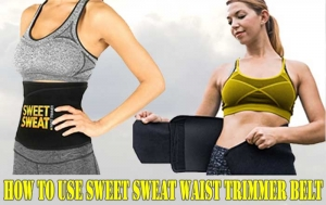 How To Use Sweet Sweat Waist Trimmer Belt