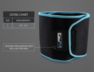 Flexibility factor of EzyFit waist trimmer