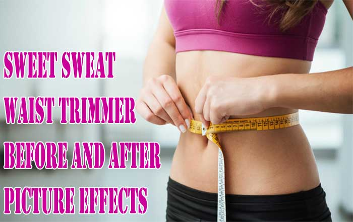 341a142d6c2 Sweet Sweat Waist Trimmer Before and After Picture Effects