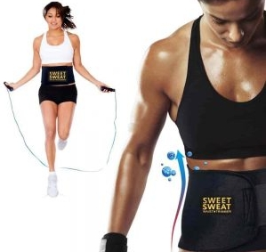how to use sweet sweat waist trimmer