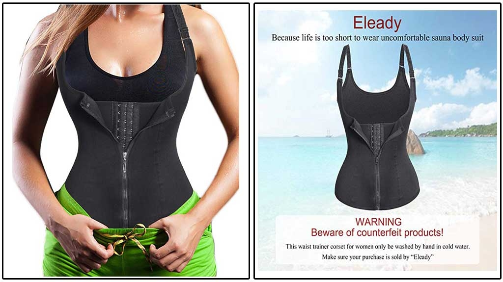 Eleady Women's Underbust Waist Trainer