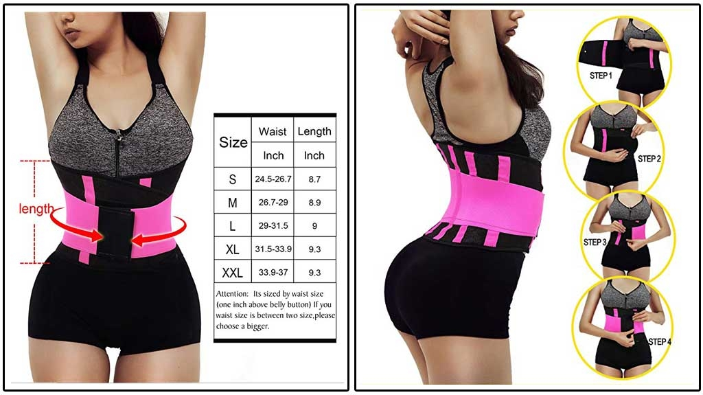 Otioiti Womens Waist Trainer Belt