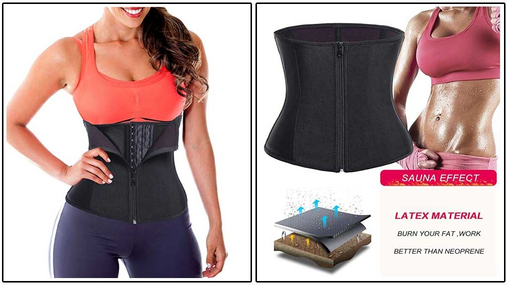 TAILONG Waist Trainer Corset Body Shaper Cincher