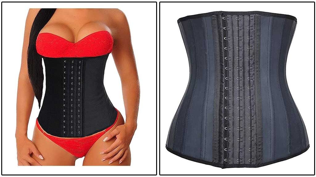 YIANNA Women's Underbust Latex Waist Trainer