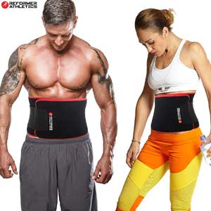 Reformer Athletics Waist Trimmer Belt